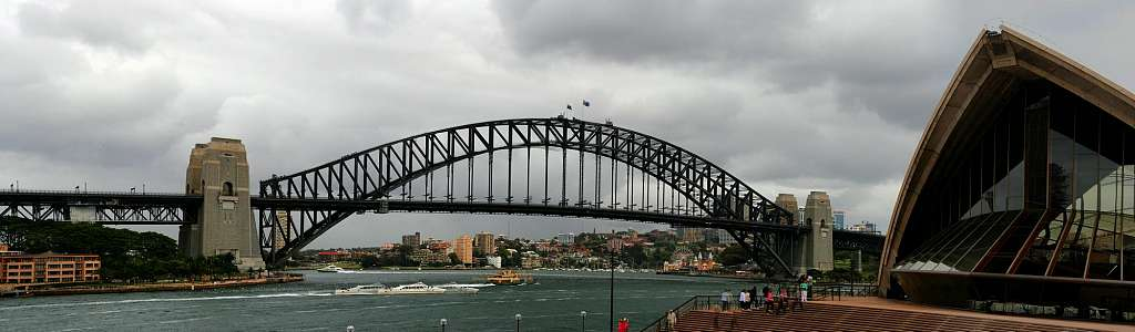 Sydney: Panorama Harbour Bridge (05.11.07)