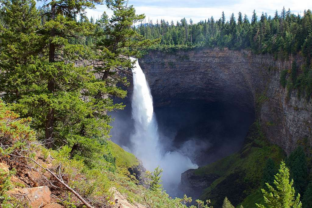 Helmcken Falls, Wells Grey Park, British Columbia 2016-07-30