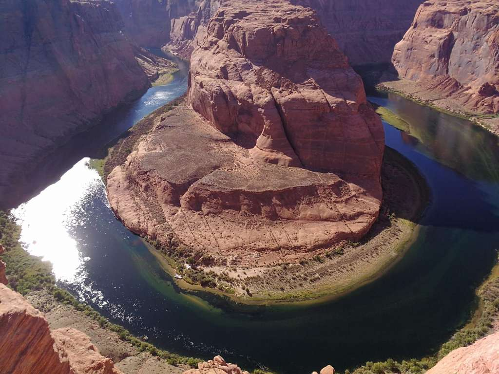 Horseshoe Bend am Lake Powell