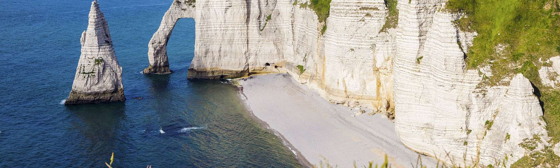 Old Harry Rocks: Kreidesäulen an der Jurassic Coast