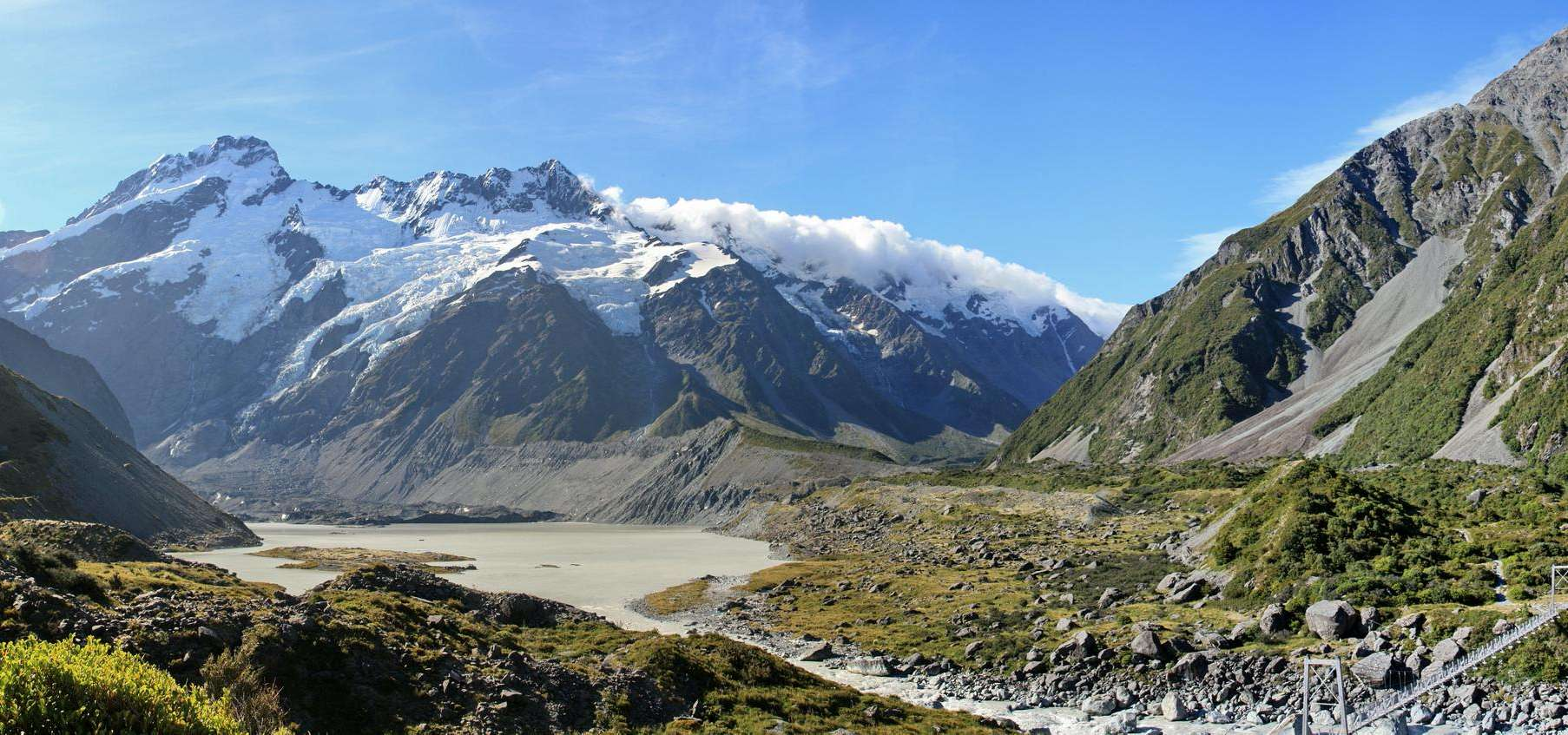 Mt Cook: Hooker Valley Track