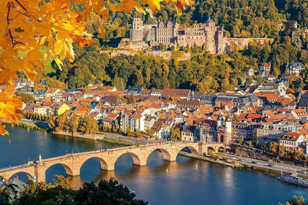 The cradle of German Romanticism: Heidelberg