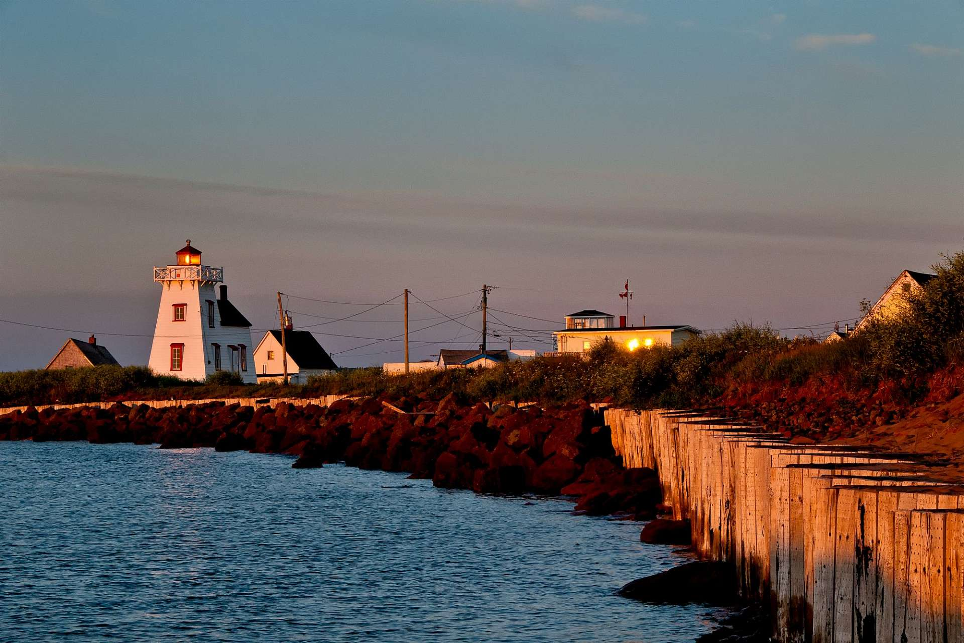 North Rustico Lighthouse: Prince Edward Island