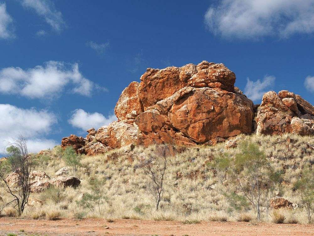 Rote Felsen, heiliges Land: West MacDonnell Ranges