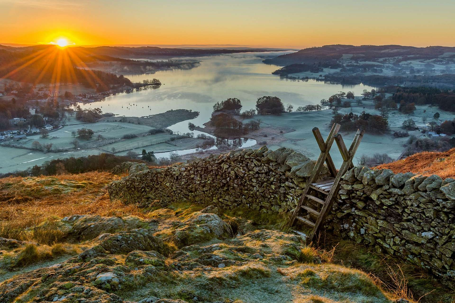 Northern England from a picture book: Windermere