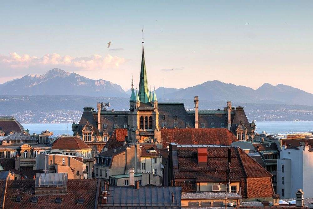 Capital of the Swiss Riviera: Lausanne