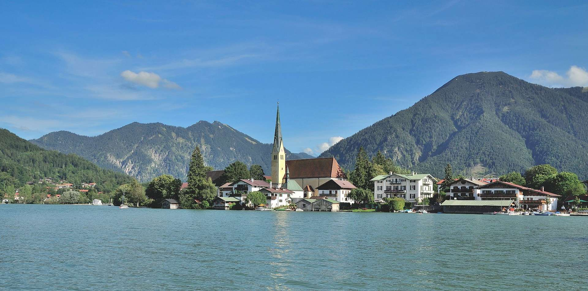 Tegernsee in Upper Bavaria
