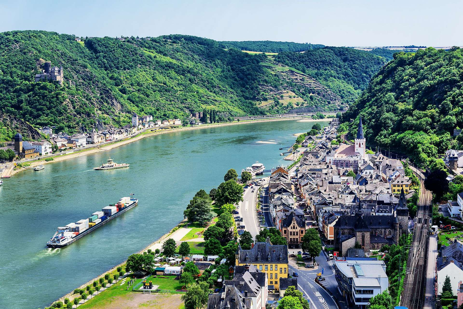 Medieval half-timbered town: St. Goar
