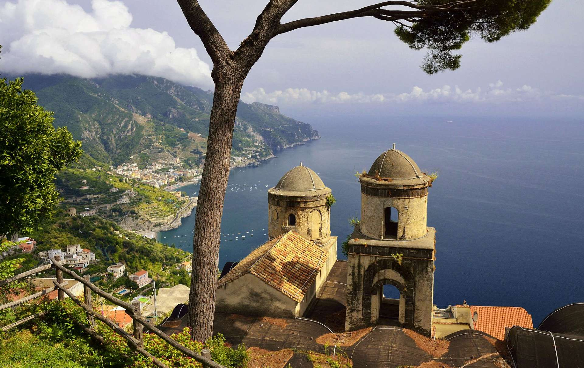 Spectacular views: The Amalfi Coast
