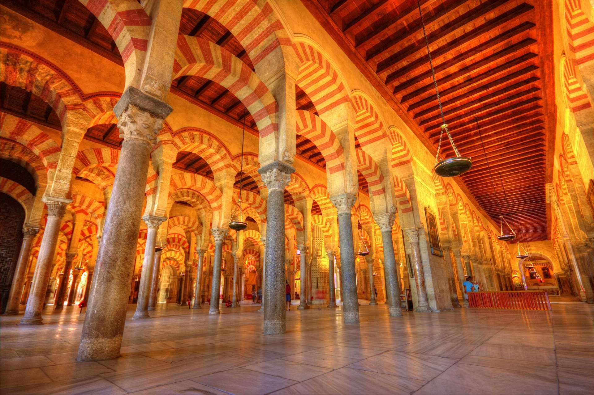 Unique forest of pillars: The Mesquita in Cordoba