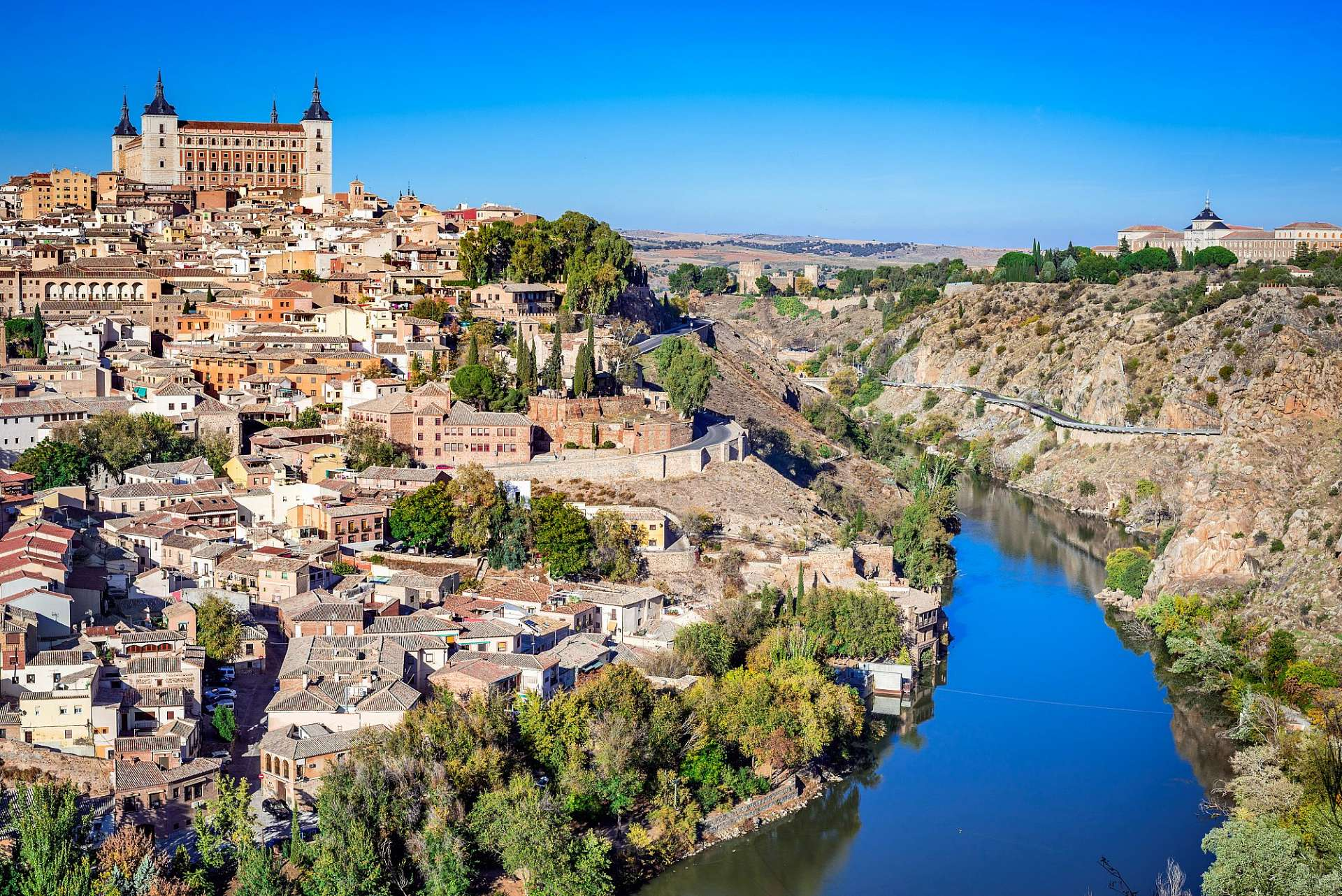 Enthroned above the Rio Tajo: Toledo