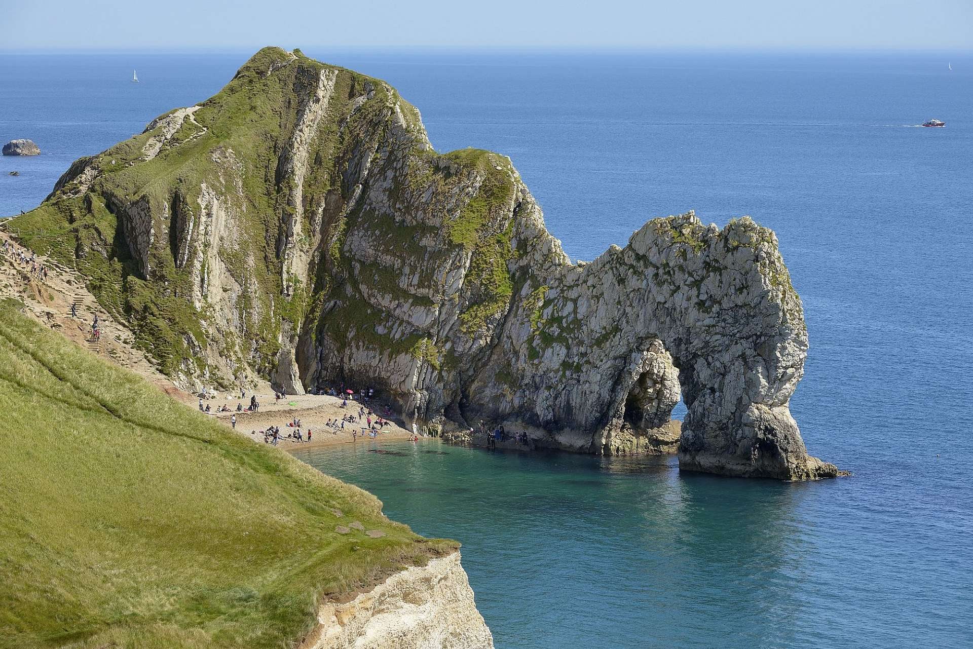 Outstanding beauty: Durdle Door on the Jurassic Coast