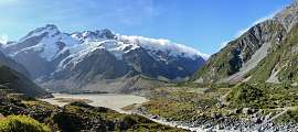 Mt Cook: Hooker Valley Track | © Dr. Peter Bartels