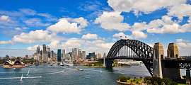 Sydney: Harbour Bridge und Oper