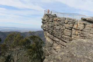The Pinnacle Lookout in den Grampians