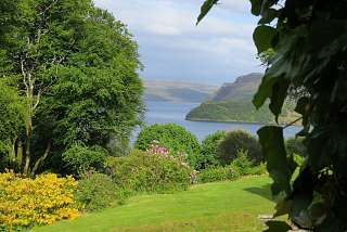 Isle of Skye, A room with a view from a historic house