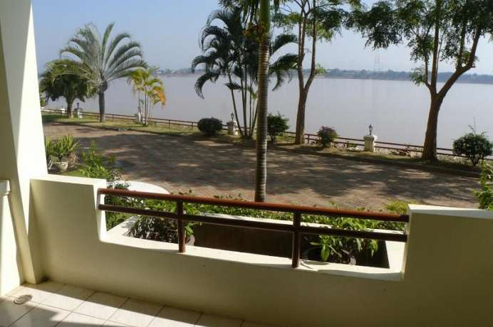 Am Ufer des Mekong: River View Hotel