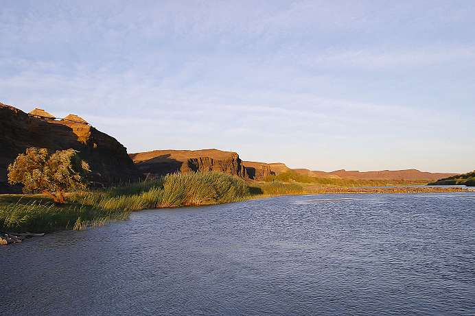 Lebensader des Parks: Orange River