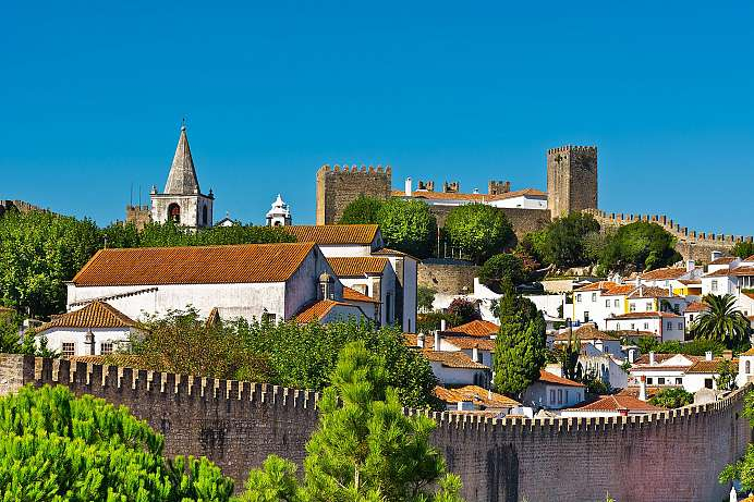 Portugals Rothenburg: Obidos
