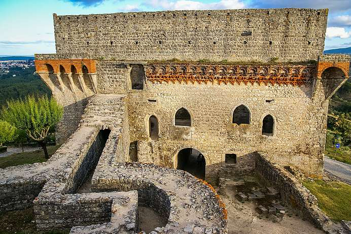 Fortress of the Knights of Christ: Ourém Castle