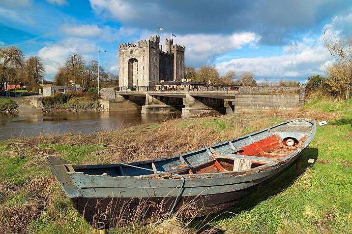 Am River Shannon: Bunratty Castle