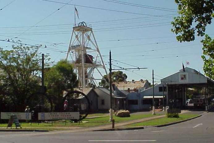 Heute Museum: Debora Mine in Bendigo
