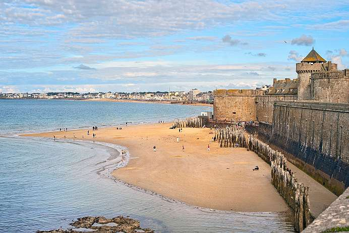 Old Town in the Atlantic: St-Malo