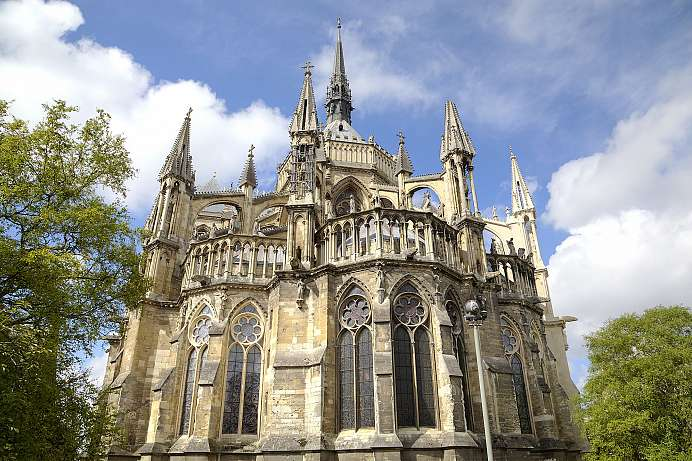 Pure Gothic: Reims Cathedral