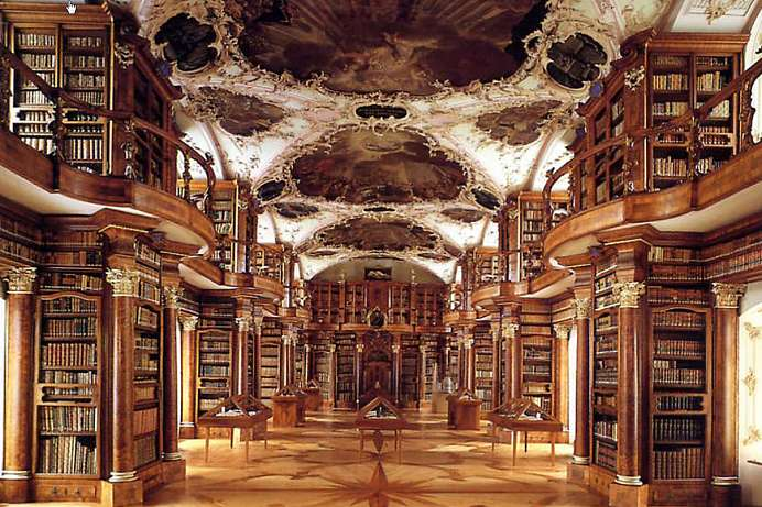 A magical place: Abbey Library of St. Gall