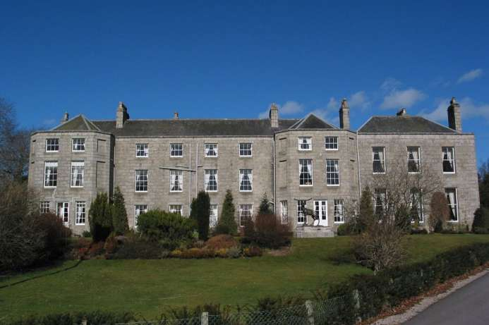 Ehemaliger Familiensitz: Castle Hotel in Huntly