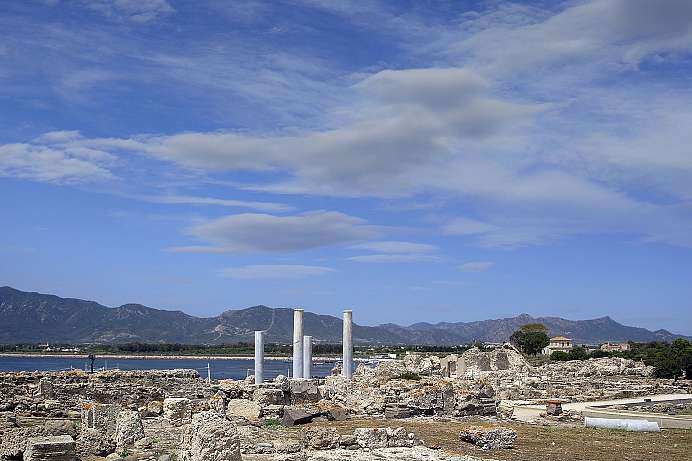 Oldest city on Sardinia: Nora