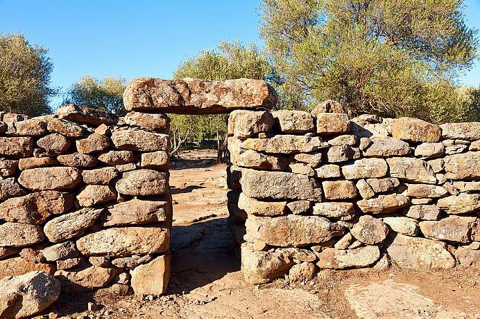 From the Bronze Age: Nuraghi Genna Maria