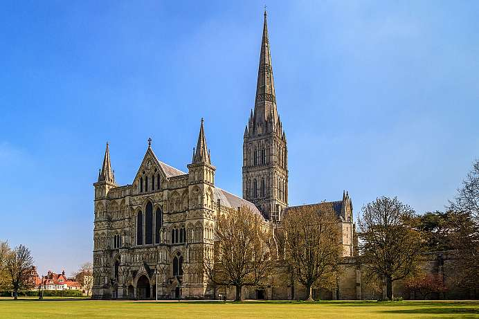 Picture-perfect Gothic: Salisbury Cathedral