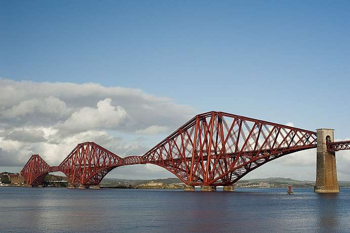Across the Firth of Forth: Railway bridge