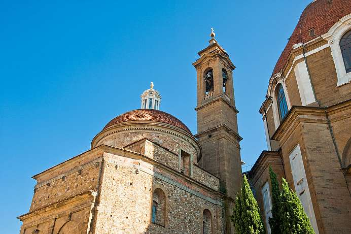 From the 3rd century: Basilica di San Lorenzo