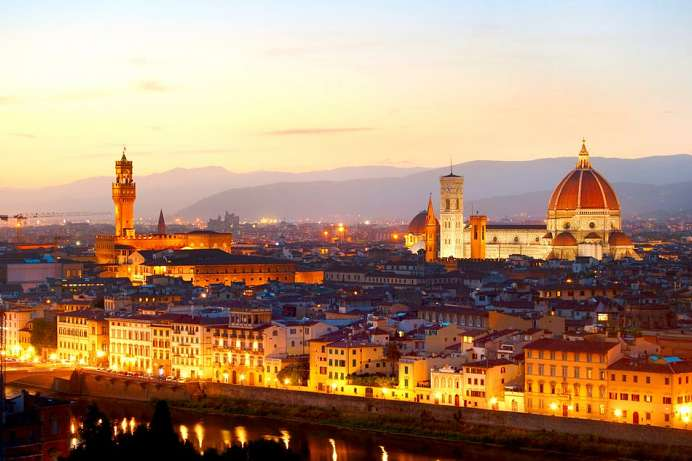 Best view of Florence: Piazzale Michelangelo