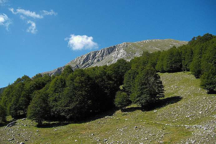 Monte Pollino: lonely mountain wilderness