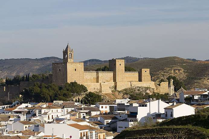 In the shadow of a Moorish castle: Antequera