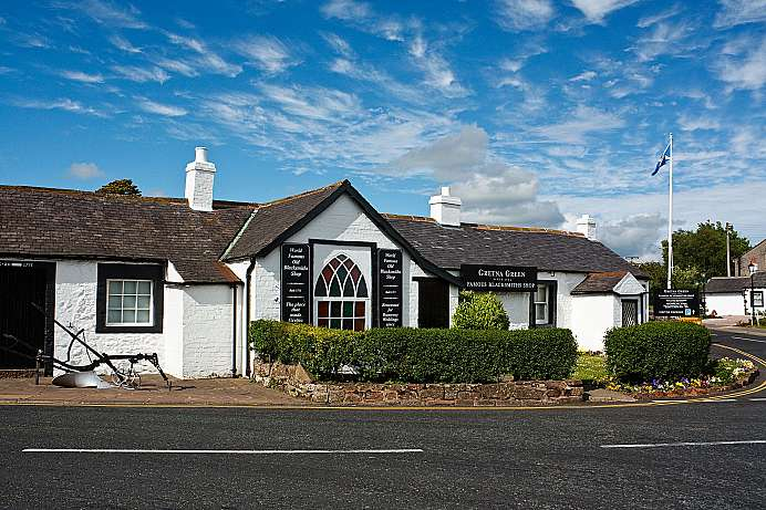 Gretna Green: The wedding forge