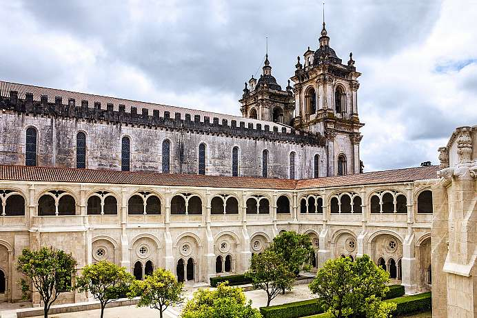 Powerful and wealthy: The Abbey of Alcobaca