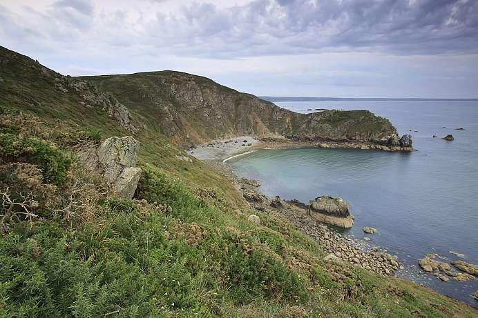 View of the Channel Islands: Nez de Jobourg