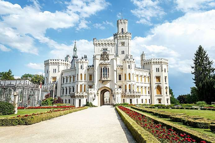 Czechia's answer to Neuschwanstein: Hluboká Castle