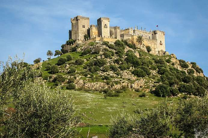 Picture-perfect Spanish castle: Castillo de Almodóvar