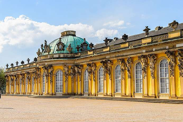 Unique palaces and magnificent gardens: Sanssouci