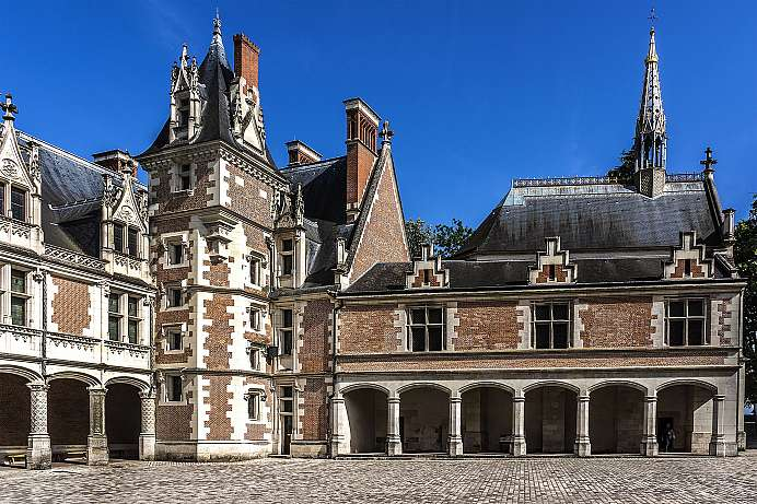 Residence of the French kings: Castle Blois