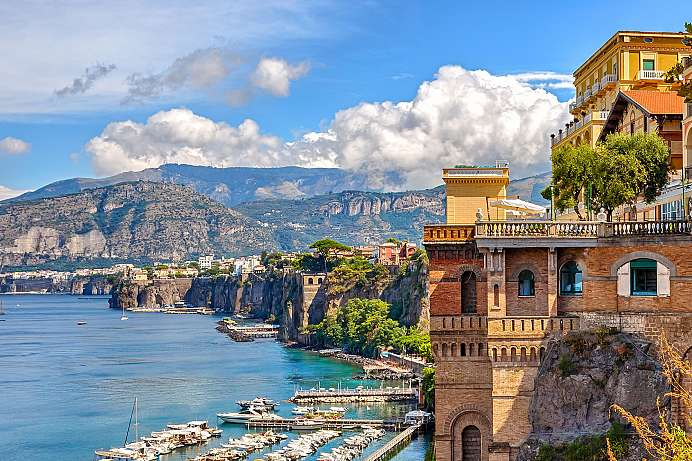 Sorrento: Immortalized by writers, musicians and painters
