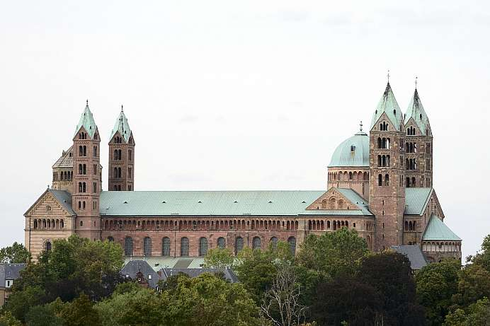 Romanesque Imperial Cathedral: Speyer