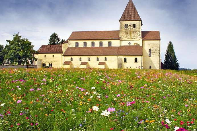Flower meadows, Romanesque churches: World Heritage island