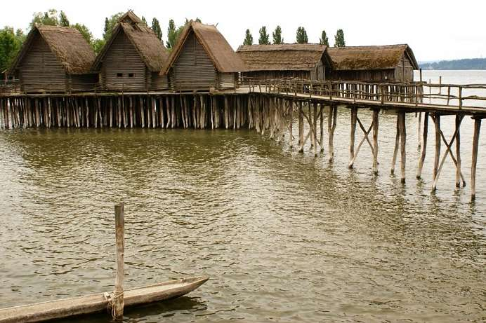World Heritage Site: Lake dwellings on Lake Constance