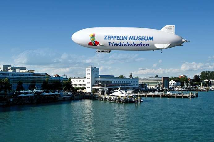 History of the giants of the air: Zeppelin Museum